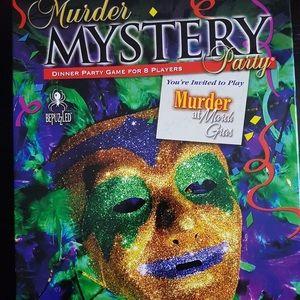 Murder Mystery Game - Murder at Maradi Gras